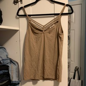 Tops - tan camisole